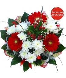 Букет цветов 54