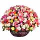 Корзина цветов 37