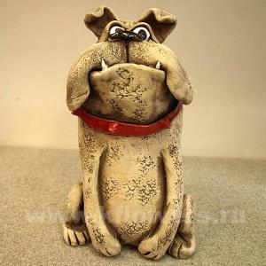 фигурка собака-копилка 11