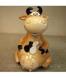 фигурка-копилка корова