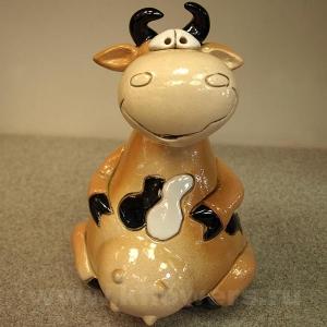 фигурка корова-копилка 11