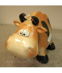 копилка фигурка коровы 13