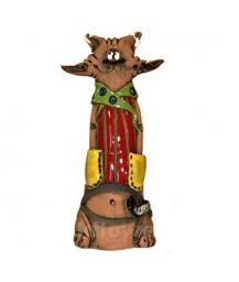 статуэтка кот-копилка 14