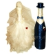декор шампанского жених и невеста