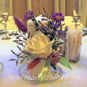 Свадебное оформление свечей