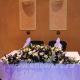 Свадебная настольная композиция 58