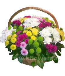 Корзина цветов 40