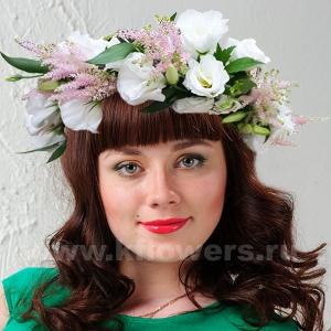 Венок из цветов на голову 14