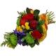 Букет цветов каскадный 27