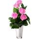 Букет цветов каскадный 28