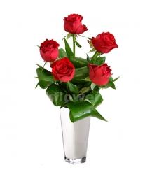 Букет цветов каскадный 29