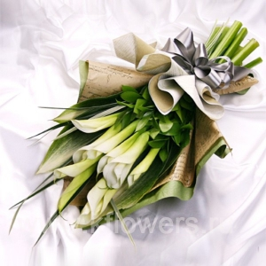 Букет цветов азиатский 11