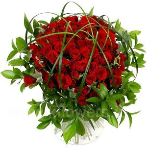 Букет цветов азиатский 14