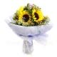 Букет цветов азиатский 16