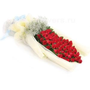 Букет цветов азиатский 17