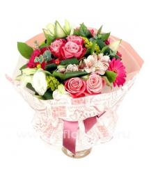 Букет цветов азиатский 19