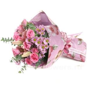 Букет цветов азиатский 20