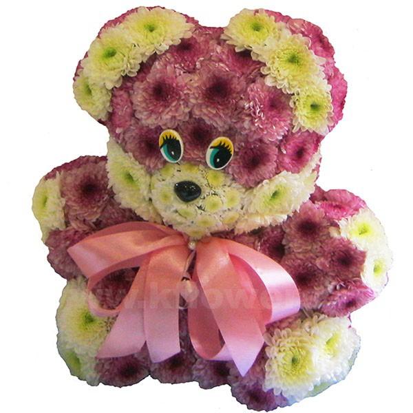 Купить игрушки из цветов в москве