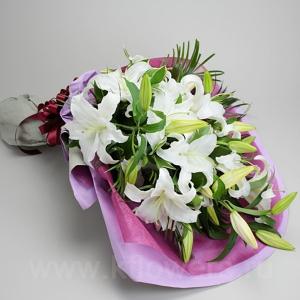Букет цветов азиатский 21