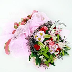 Букет цветов азиатский 22