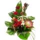 Букет цветов каскадный 18
