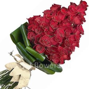 Букет цветов каскадный 22