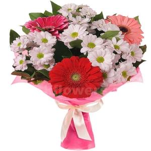 Букет цветов 12