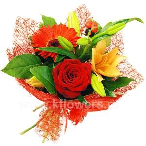 Букет цветов 13