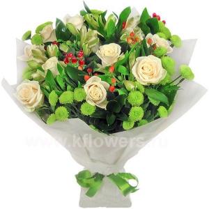 Букет цветов 16