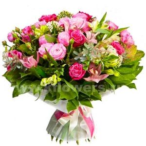 Букет цветов 18