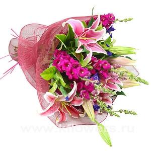 Букет цветов австралийский 15