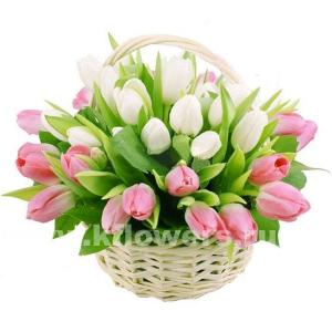 Корзина цветов 14