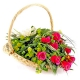 Корзина цветов 17