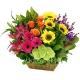 Корзина цветов 19