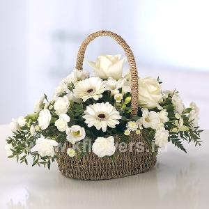Корзина цветов 27