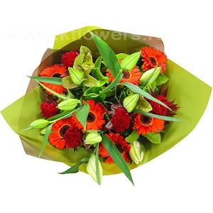 Букет цветов австралийский 17
