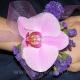 Браслет из цветов 14