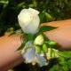 Браслет из цветов 16
