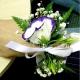 Браслет из цветов 17