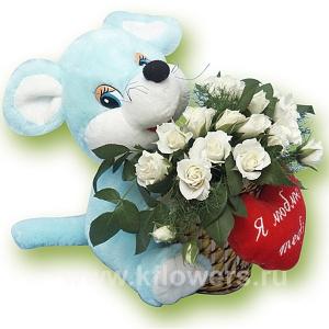 Цветы мягкие игрушки с доставкой купить дешовые искуственные цветы в москве