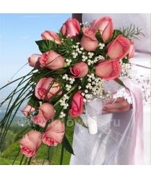 Букет невесты каскадный_12