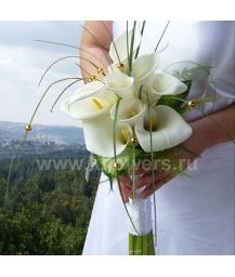 Букет невесты каскадный_13