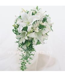 Букет невесты каскадный_15