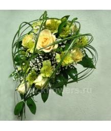 Букет невесты каскадный_17
