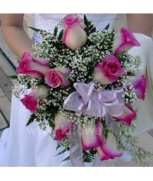 Букет невесты каскадный_20