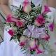 Букет невесты каскадный 20