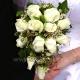 Букет невесты каскадный 24