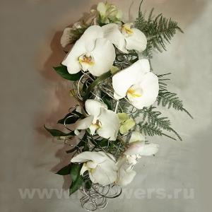 Букет невесты каскадный 28