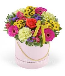 Букет цветов американский 12