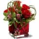 Букет цветов американский 13